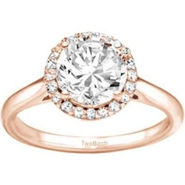 https://ariani-shop.com/diamond-princess-solitaire-with-halo-set-in-rose-gold-plated-sterling-silver-032-ct-twt Diamond Princess Solitaire with Halo set in Rose Gold Plated Sterling Silver (0.32 Ct Twt)