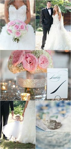 Marie + Jason - Glam Pink and Silver Real Wedding  - Photography by Paperlily, Elizabeth Marie Weddings and Events