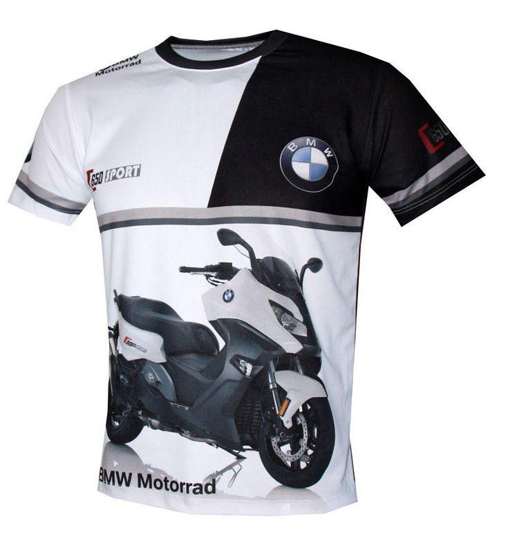 BMW C650 Sport Motorrad Motorcycle quality graphics design men's t-shirt #Handmade #sublimatedprint