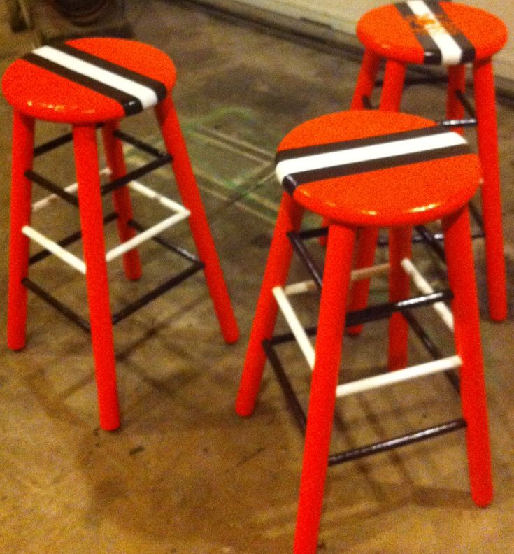 Man cave cleveland browns chairs