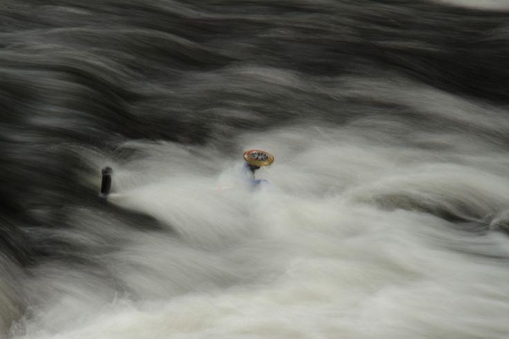druknet sparkesykkel