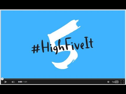 Every day, 17,000 children under five die from mostly preventable causes. Picture an entire stadium full of children dying every day. You have the power to change that! Join the #HighFiveIt movement to save kids' lives at highfiveit.org