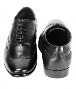MANLIO OXFORD LACE UP BLACK (2)