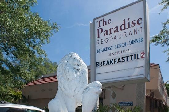 Paradise Restaurant, Safety Harbor, Florida - 11/15/14 great breakfast