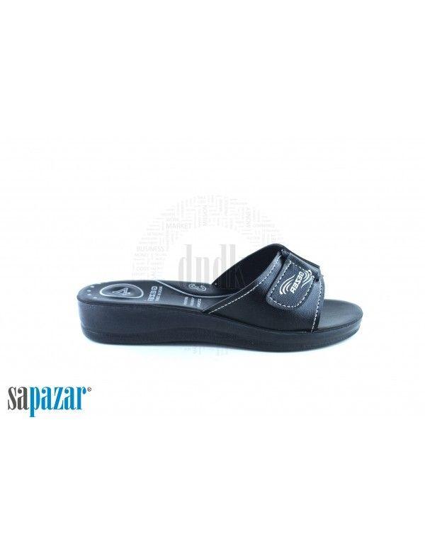 Gezer 7181 Bayan Zenne Terlik Posetli Terlik Siyah Siyah Ve Barista