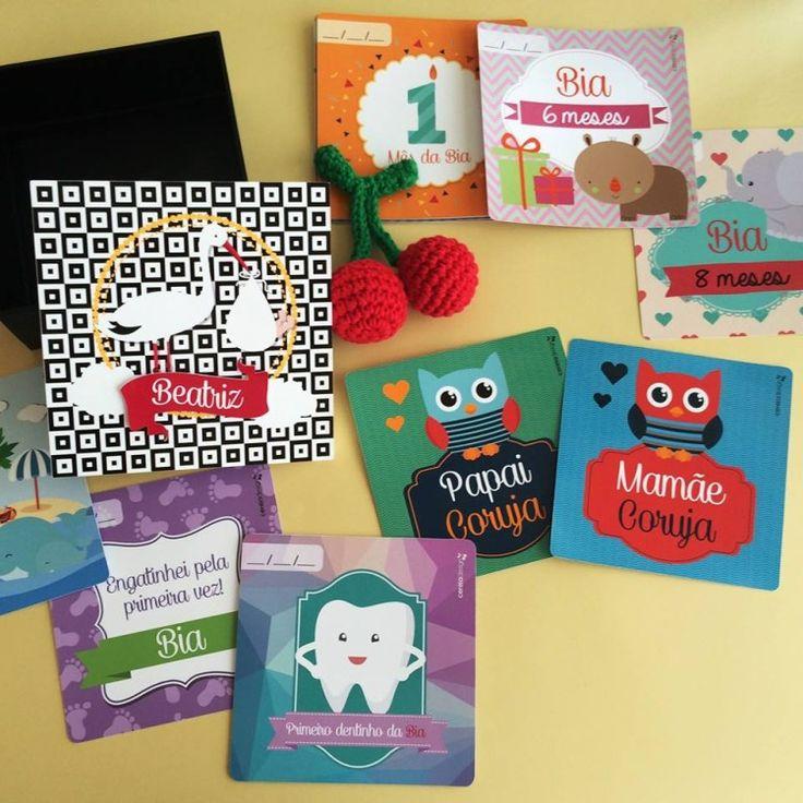Cards para seu Bebê | Cereja Design
