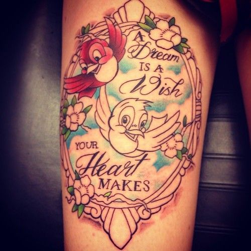 228 Best Disney Tattoos Images On Pinterest