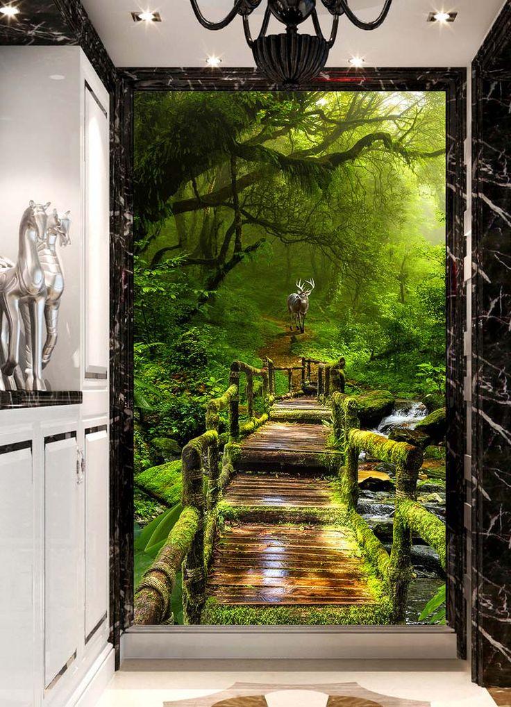 les 8 meilleures images du tableau papier peint photo paysage sur pinterest peindre. Black Bedroom Furniture Sets. Home Design Ideas