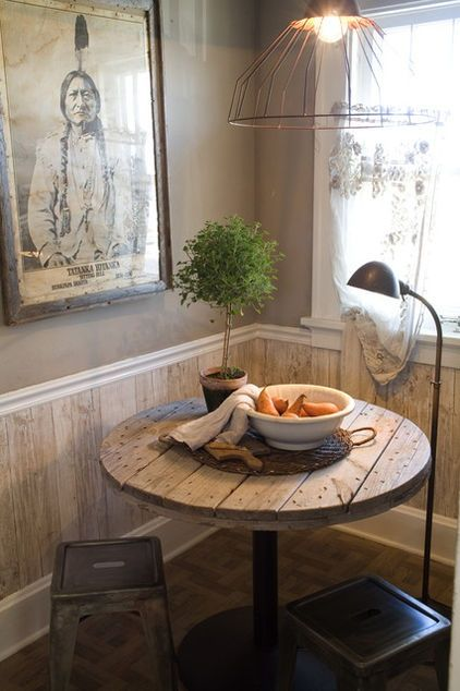 34 Old Wooden Spools Ideas - Decorating Ideas