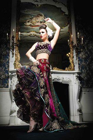 Ekta Solanki Couture   Portfolio - Sophia - Bridal 2011