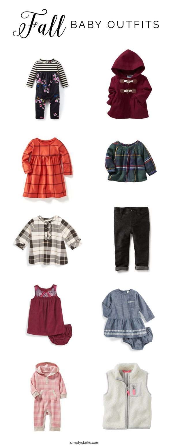 Fall Baby Outfits - Baby Girl Clothes