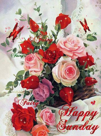 Image Result For Have A Nice Sunday Gif Flower Garden