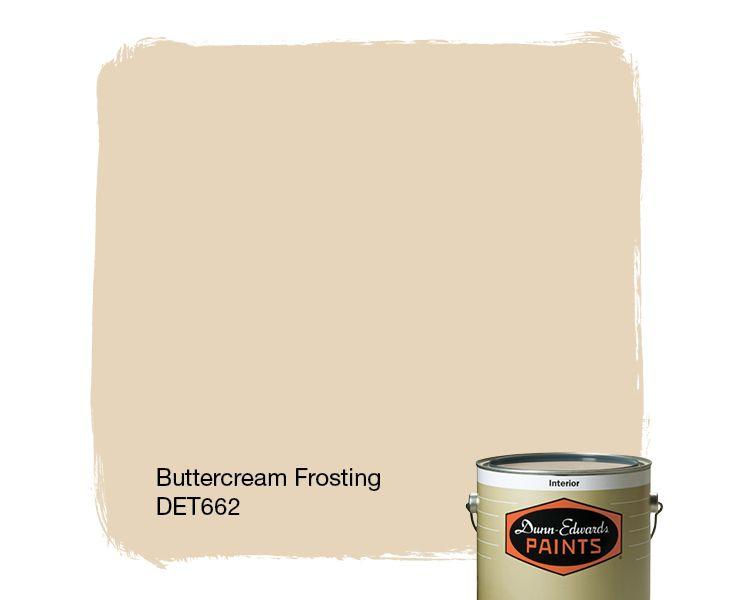 Dunn Edwards Paints Paint Color Buttercream Frosting