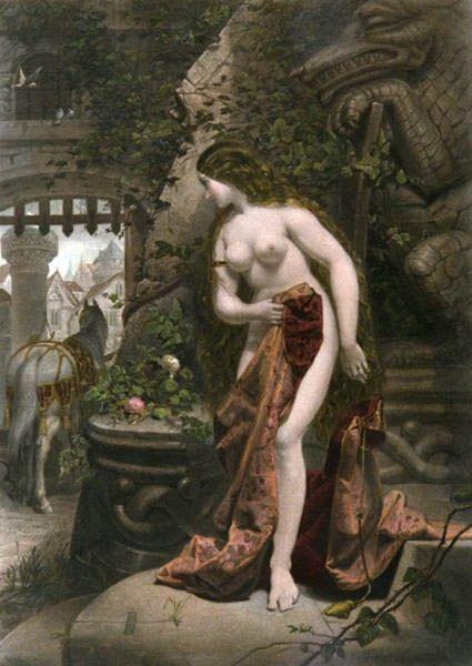 Дивная леди Годива. Как английская аристократка разделась ради народа | История | Общество | Аргументы и Факты