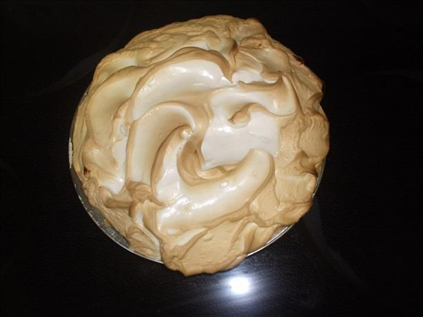 Southern Peanut Butter Cream Pie from Food.com:   								This is a very rich pie with a peanut butter pudding filling and a meringue topping. Sometimes I use whipped cream instead of the meringue. This pie is as southern as it gets.