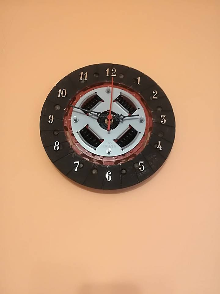 43f6b2e4cc1 Ceas - disc ambreiaj Relógio De Parede