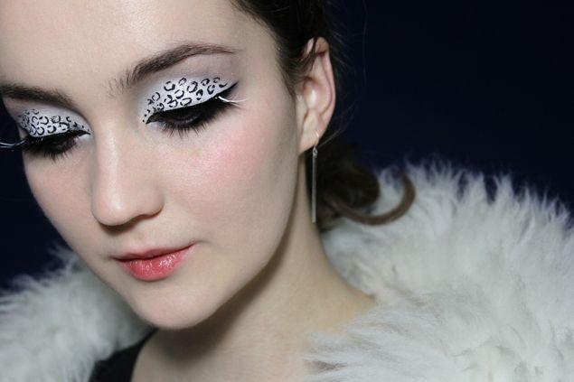 Snow Leopard Makeup – Winter Makeup