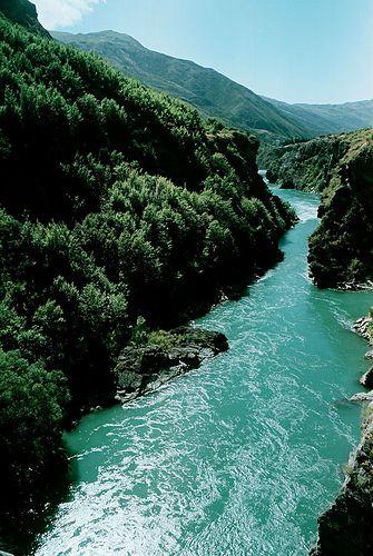 Queenstown Gorge, New Zealand