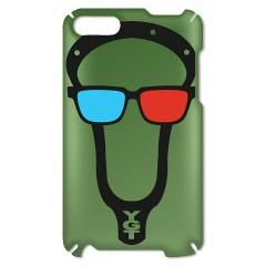 Lacrosse 3D Glasses iPod Touch Case  www.YouGotThat.com www.facebook.com/YouGotThat #Lacrosse #Lax #Lax gifts #Lacrosse Gifts