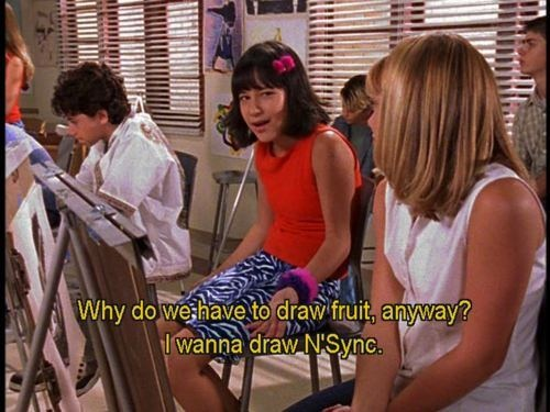 I'd rather draw NSYNC too, Miranda