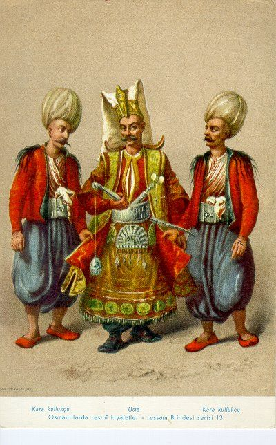"""The Janissaries (from Ottoman Turkish يڭيچرى yeniçeri meaning """"new soldier"""") were infantry Musketeer units that formed the Ottoman sultan's household troops and bodyguards."""