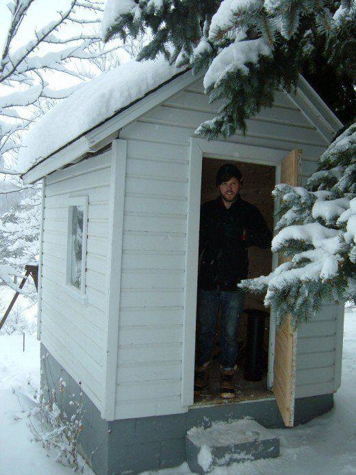 DIY: building a rustic sauna