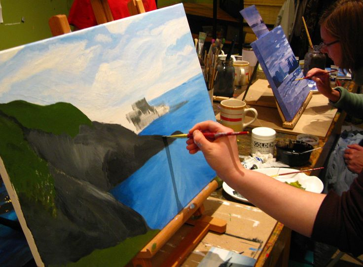 The Paint Box School of Art offers quality art classes for toddlers, children, teens and adults.