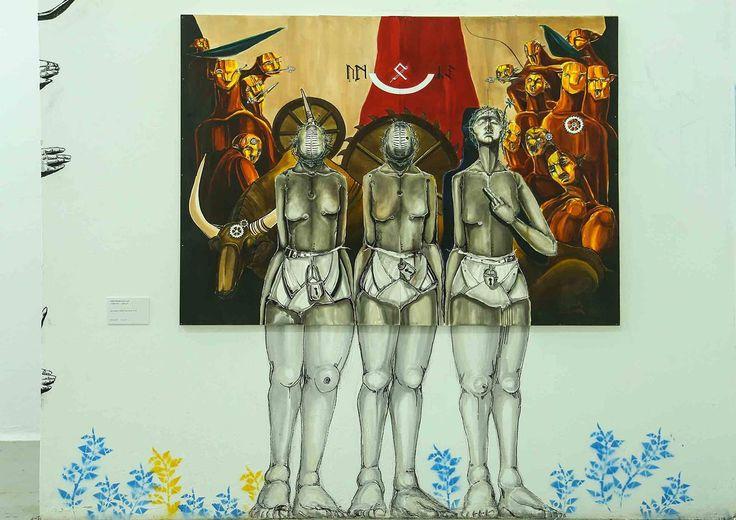 Lamis Solyman analiza las relaciones hombre-mujer - Mujeres y arte en los muros árabes