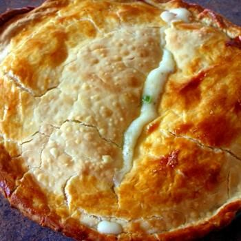 Chicken Pot Pie- I like that there is no cond. soup in this recipe