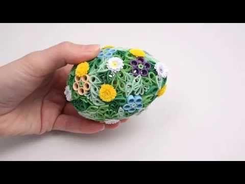 Sculpture 3D Quilling-Quilled 3D Sculpture - YouTube
