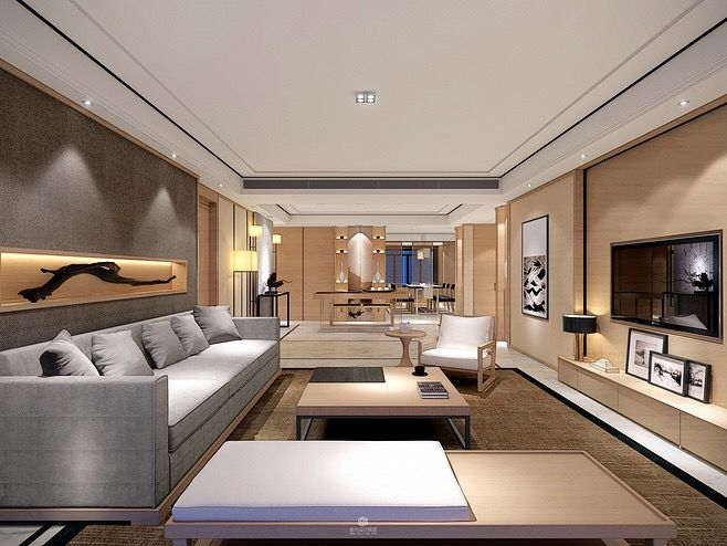 Chinese Interior Luxury Living Rooms Modern Spaces Design Style Sitting Guest