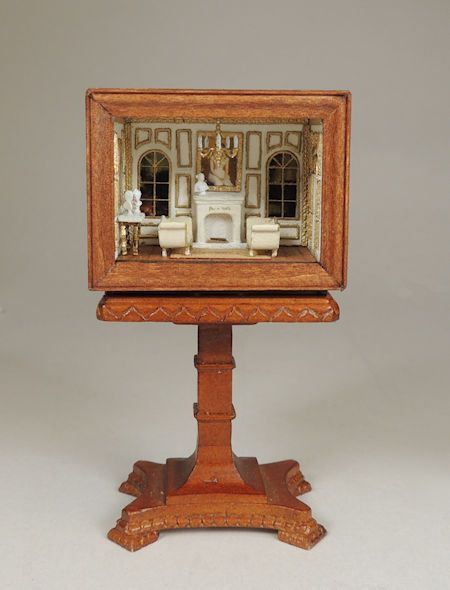 French Salon 144th Scale Roombox Online Class and Kit