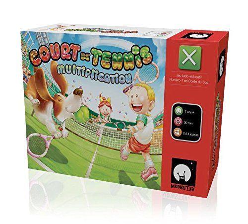 Monster games - MUL01 - Jeu de Societe - Cours de Tennis - Multiplication