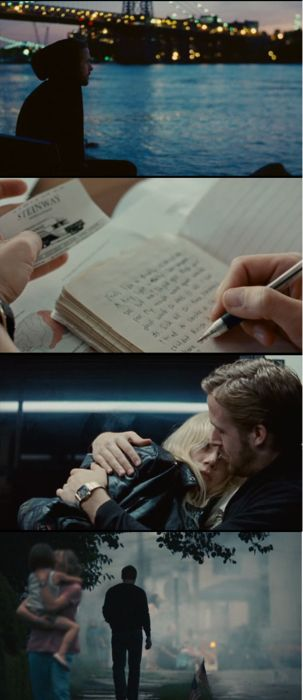 Blue Valentine...this movie has such great passion of love, yet a horrible reality.