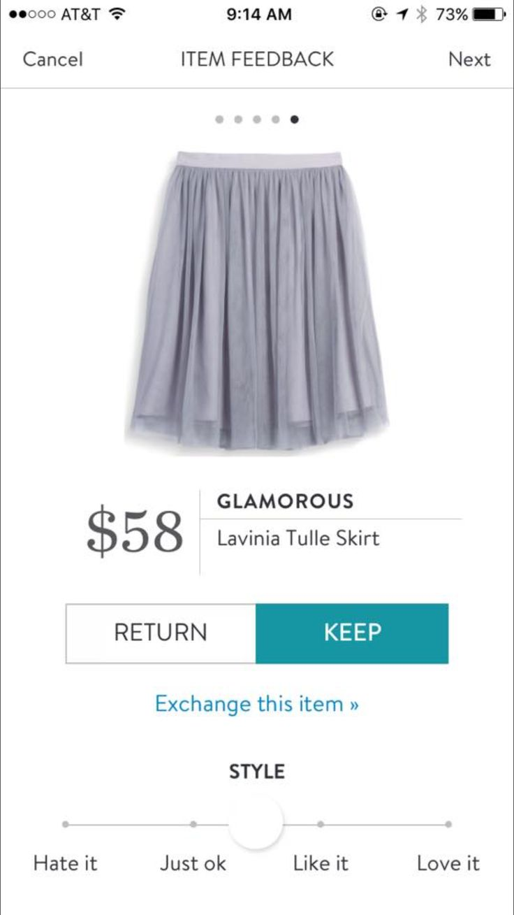 I don't own many skirts but I really like this one actually. It looks so flowy and girly!
