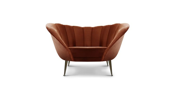 Andes Armchair is a mid-century modern furniture piece that honors this strength | Discover more bedroom chairs ideas: http://masterbedroomideas.eu
