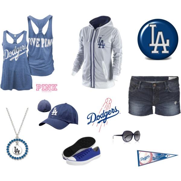 LA Dodgers, Polyvore