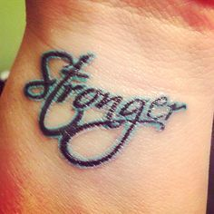 stronger tattoo - Google Search
