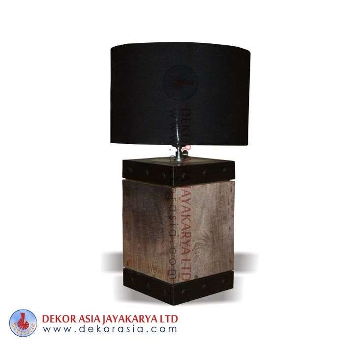 Lamp shade furniture black