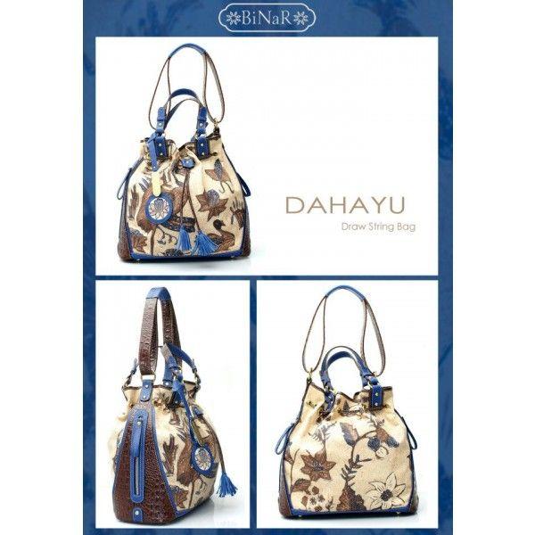 DAHAYU BIRU - Beautiful Batik Bag