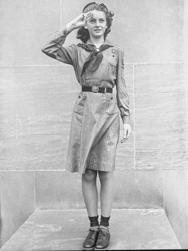 The Stylish History of Girl Scouts Uniforms