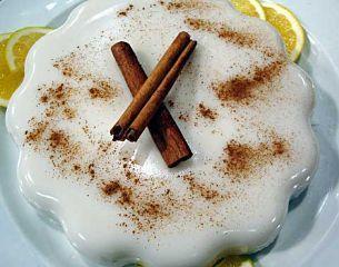 Receta Tembleque de Coco Puerto Rico. This is my favorite puertorrican dessert!
