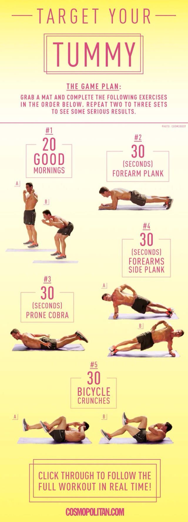 Great stomach exercise.
