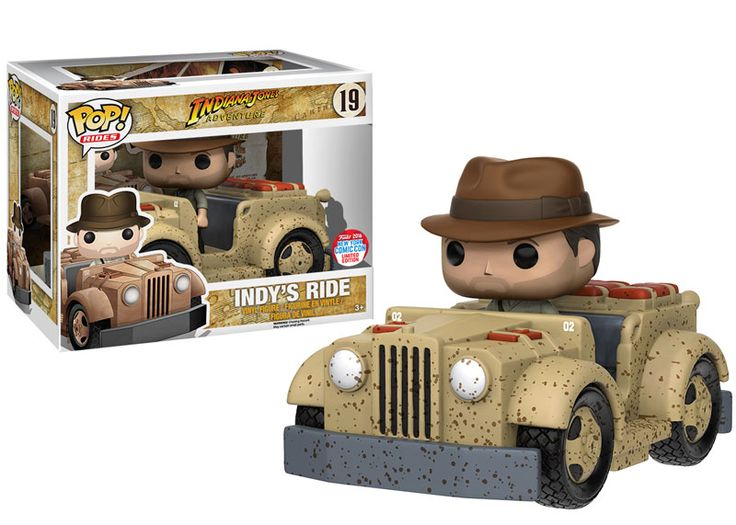 NYCC 2016 Wave 5 - Pop! Rides: Indiana Jones Adventure