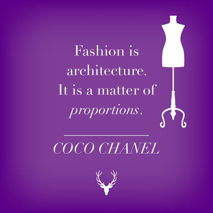 169 Best Fashion Quotes Images On Pinterest Fashion