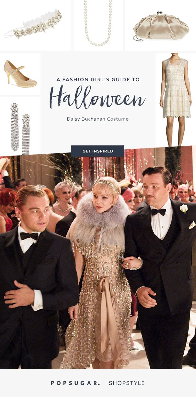 You can become Daisy Buchanan from The Great Gatsby with items you may already have in your closet!