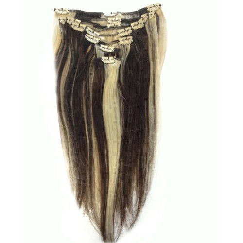 38 best beauty hair extensions wigs images on pinterest hair clip in human hair extensions brown blonde 4613 22 inch pmusecretfo Image collections