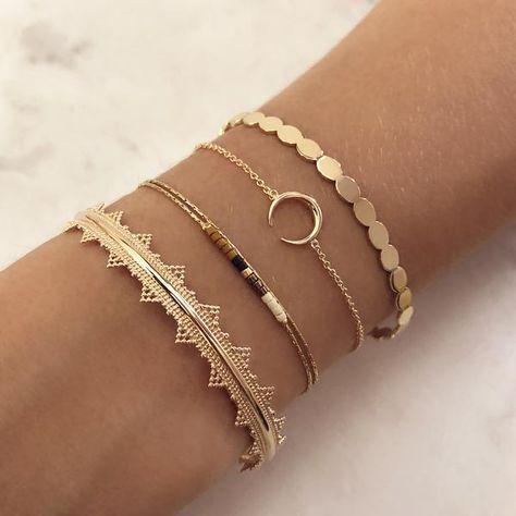 Awesome jewelery bracelets – # bracelets #bijoux #jewelery