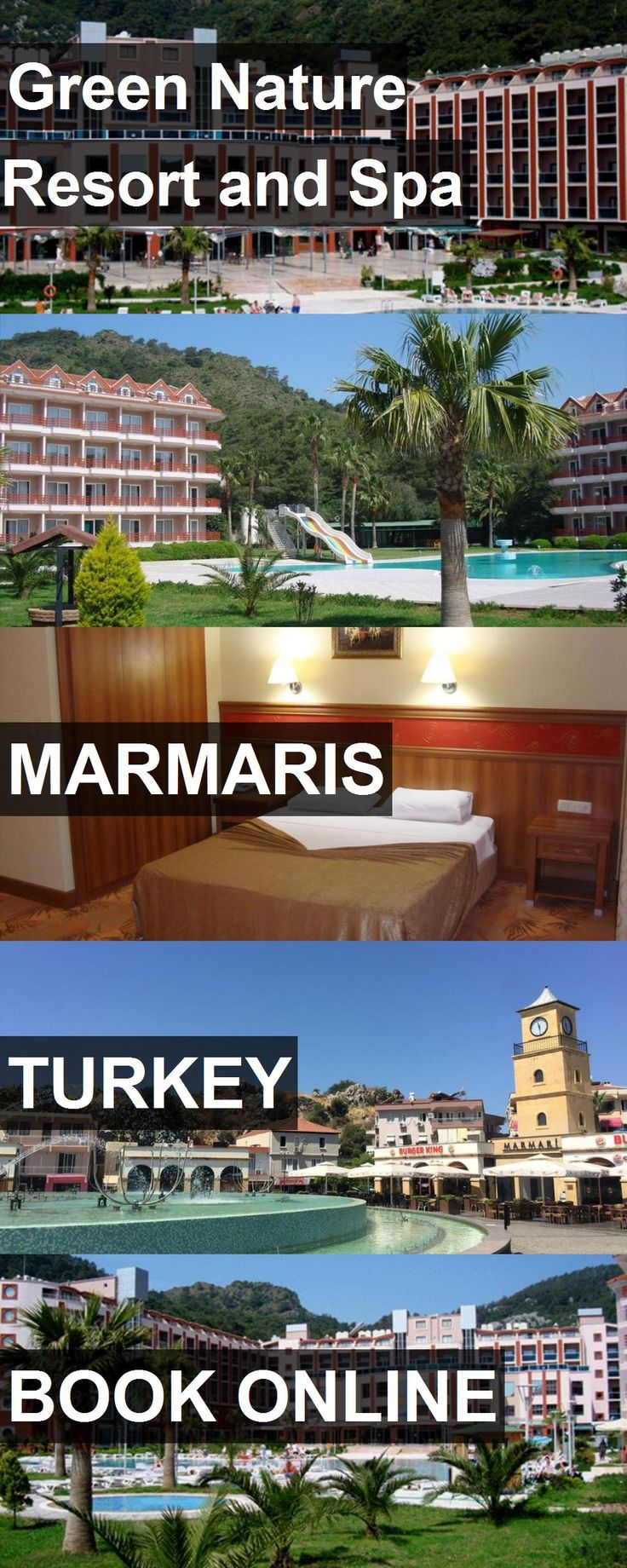 Hotel Green Nature Resort and Spa in Marmaris, Turkey. For more information, photos, reviews and best prices please follow the link. #Turkey #Marmaris #travel #vacation #hotel