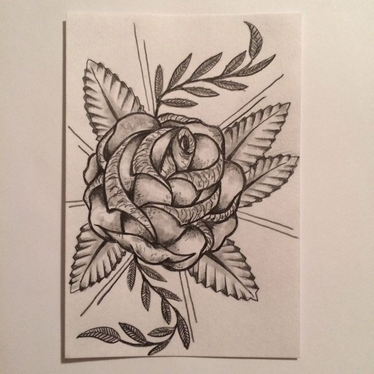 rose tattoo sketch drawing tattoo idea by ranz pinterest drawings tattoo ideas and. Black Bedroom Furniture Sets. Home Design Ideas